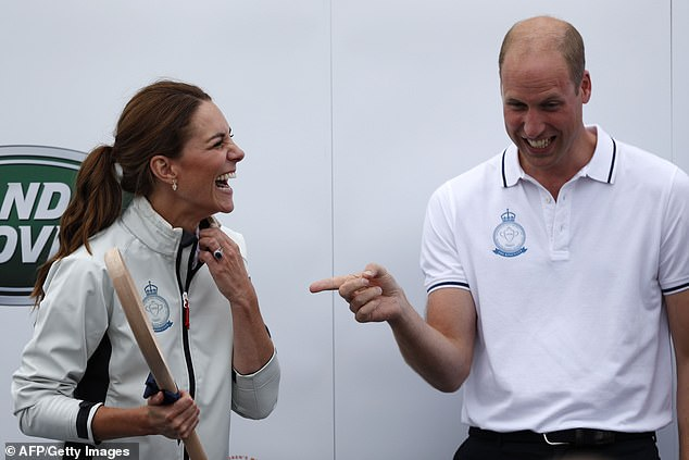 Prince William and Kate finished in third and eighth place respectively in a charity sailing regatta last week