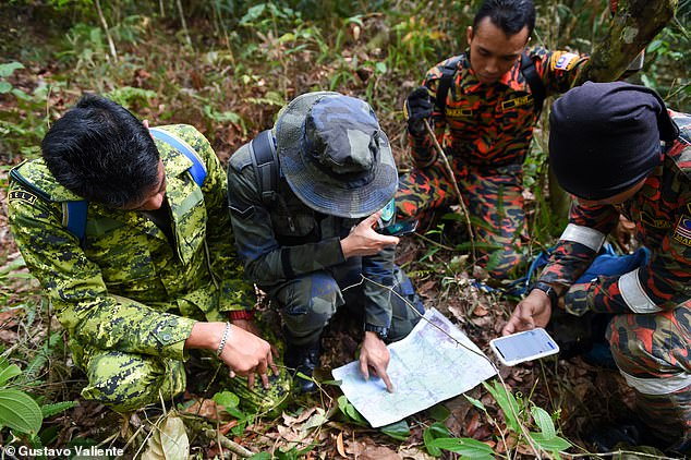 A search party combed the jungle for ten days after the teen went missing in the early hours of August 4