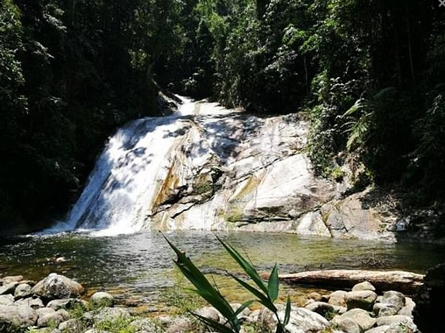 Nora's body was found was found near a waterfall in Gunung Berembun in the Pantai Hills around a mile away from the resort