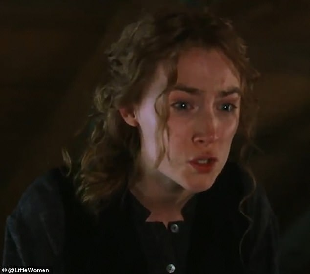 Plot: Snippets of the sisters' dreams are shown throughout the trailer, with Jo's wilful and stubborn personality boding well with her play writing desires