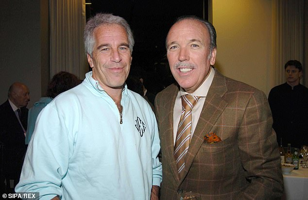 Rotting in hell:Jeffrey Epstein (above with Pepe Fanjul in 2005) showed no remorse for the crimes he committed or lives he destroyed in interviews before his death with Charlie Gasparino