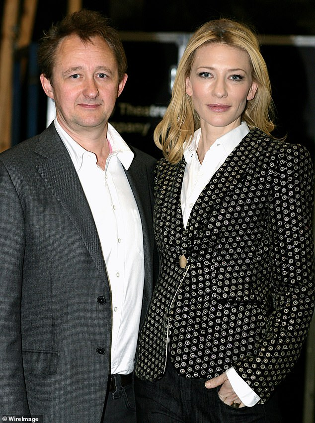 Family life:Cate (R)and her husband-of-21-years, playwright Andrew Upton(L), have four children: adopted daughter Edith, four, and sons Dashiell, 17, Roman, 15, and Ignatius , 11
