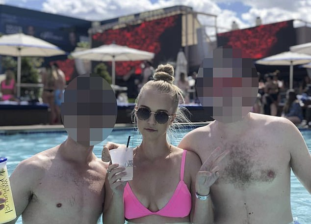 Almost five years earlier the city faced a similar danger when gunman Man Haron Monis held 18 people hostage at Lindt Cafe in Sydney's Martin Place, and Ms Dunn (centre) posted about the tragedy on social media