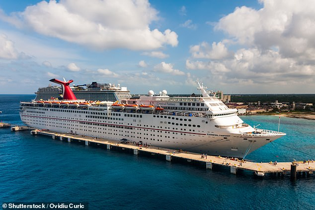 Carnival Fantasy received just 77 marks out of 100 during its sanitation review - its lowest score before that was 78 in 1990. Ships must score 86 or above to pass
