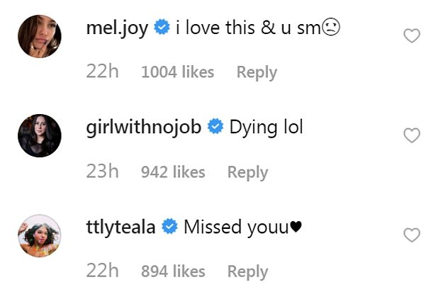 Fans: The comments section on Olivia's latest Instagram post is filled with people praising her rebuke of the media and calling her a 'legend'