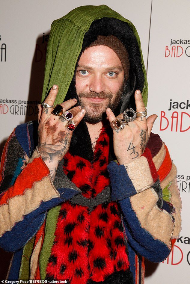 In jail:Former MTV star Bam Margera is behind bars following a drunken incident where he refused to leave a Los Angeles hotel after being told there were no rooms available on Wednesday night, according to The Blast