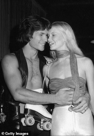 Patrick and Lisa are pictured together in 1979