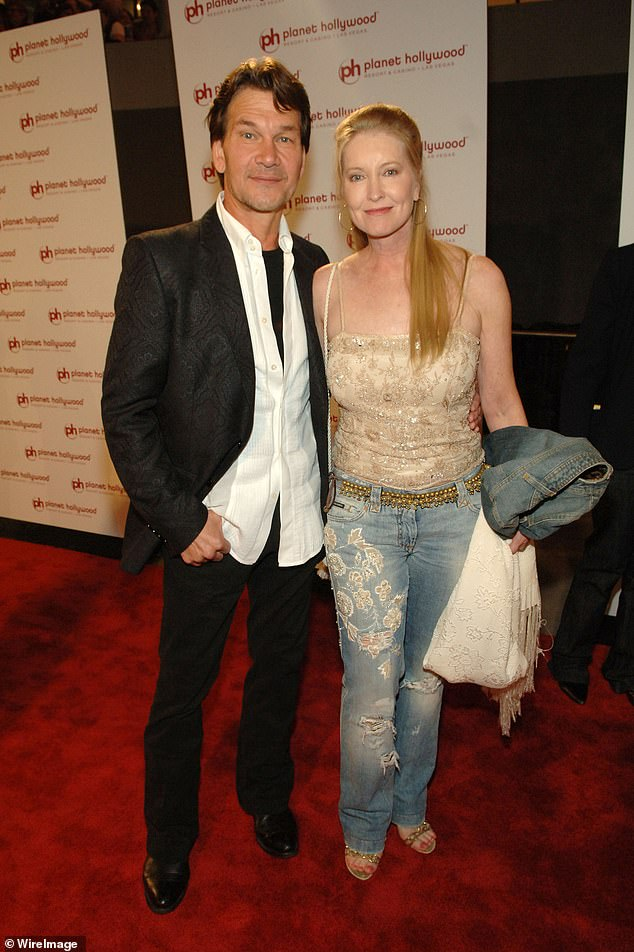 In 2016, Lisa was forced to deny allegations she was physically abusive towards her husband before his death. The couple are pictured together in 2007