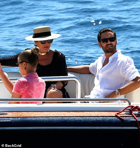 Summer style TheFlip It Like Disick star looked in his element as he shielded himself from the scorching rays with a pair of chic shades