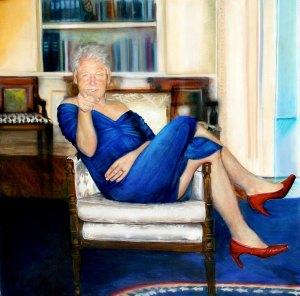 Eu quero você: A pintura original é da artista australiana e americana Petrina Ryan-Kleid, embora não esteja claro se Epstein comprou a tela ou teve uma impressão montada.