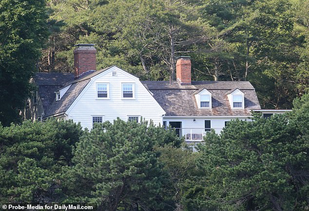 The New England Refuge, a social place, is an imposing three-story colonial estate with five bedrooms, wraparound terraces and extensive grounds leading to the ocean