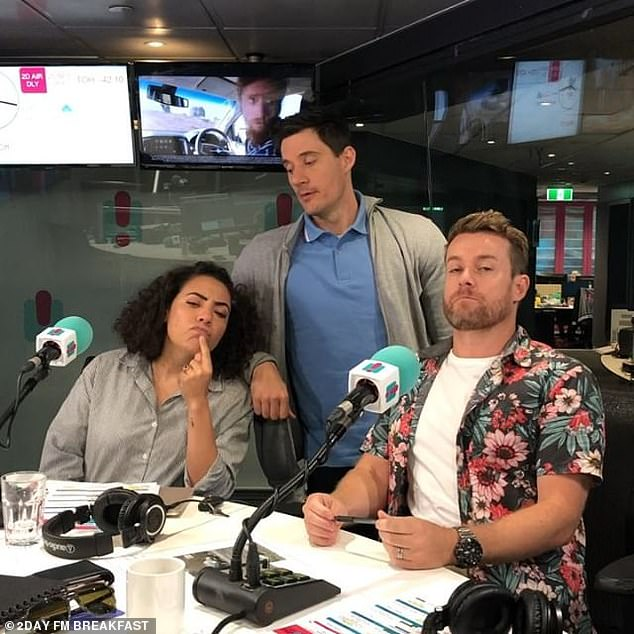 Done and dusted: 2DayFM cancelled its Grant, Ed and Ash breakfast show in August 2019 and replaced it with a daily music playlist hosted by Jamie Angel