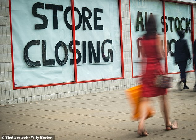 The BRC also noted that more than a tenth of the UK stores were empty last month