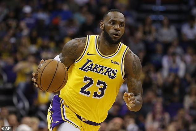 NBA superstar LeBron James is also sponsored by the same e-commerce company