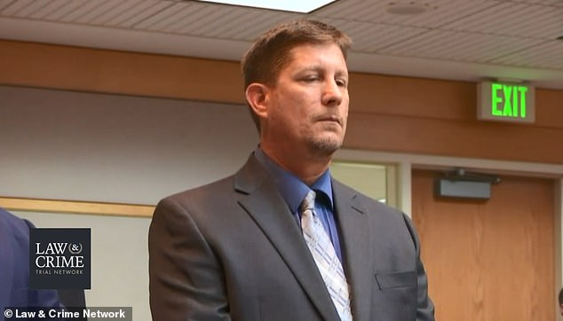 Drejka will now be sentenced on October 10 and faces a minimum of nine-and-a-half-years in prison up to a maximum of 15 years behind bars, according to Florida state law