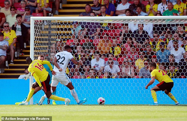 Haller slotted home from close range to make it 2-1 to West Ham in the second half