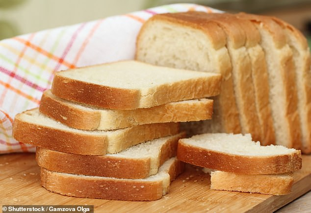 A typical slice of Hovis is about 90 calories (pictured, stock image of bread)