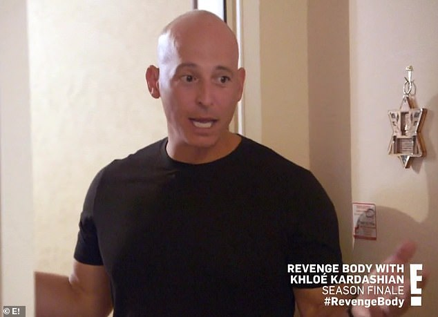 Celebrity trainer: Harley Pasternak was assigned to help Ariel