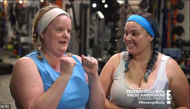 Teaming up: Allison who was on the show during season two returned with her mother Kim on Sunday's episode of Revenge Body with Khloe Kardashian