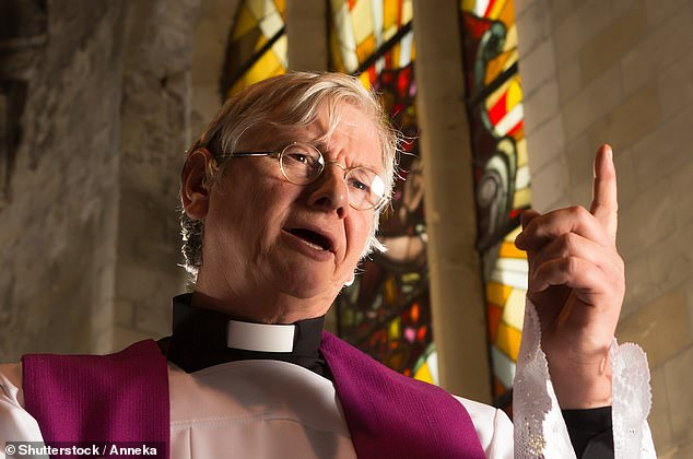 Good Heavens Average Age Of A New Vicar Is Now 40 As Congregation Numbers Continue To Shrink Daily Mail Online
