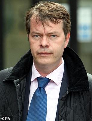 Pictured: Former Wiltshire Police detective Stephen Fulcher