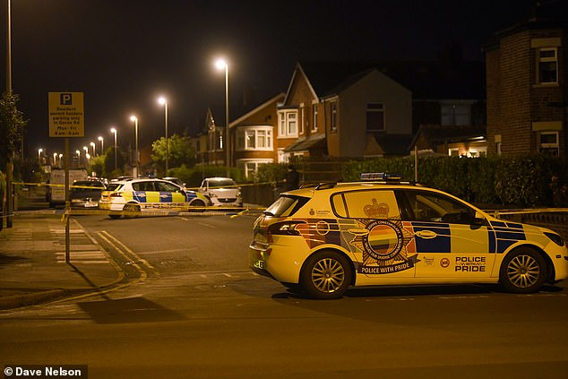 Police were called to the scene at around 6pm last night and found a woman's body