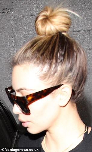Tirer à la racine: Même Kim avait l'habitude de montrer des signes d'alopécie de traction chaque fois qu'elle se faisait remarquer (photo de 2014)