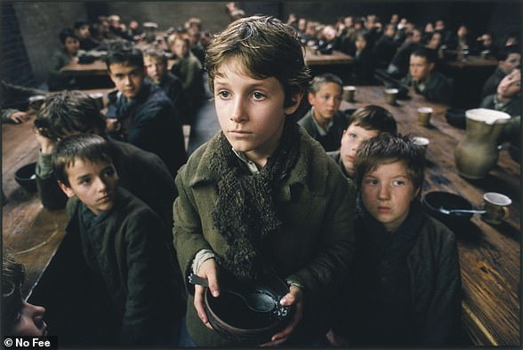 Pictured is a scene from Polanski's 2005 film, Oliver Twist