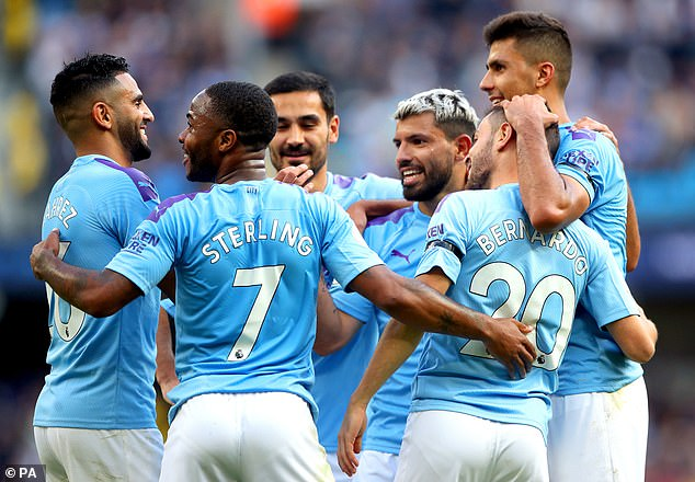 City have been banging in the early season goals, with 14 scored so far in four league matches