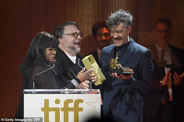 Taika's tribute: Taika Waititi accepts theTIFF Ebert Director Award