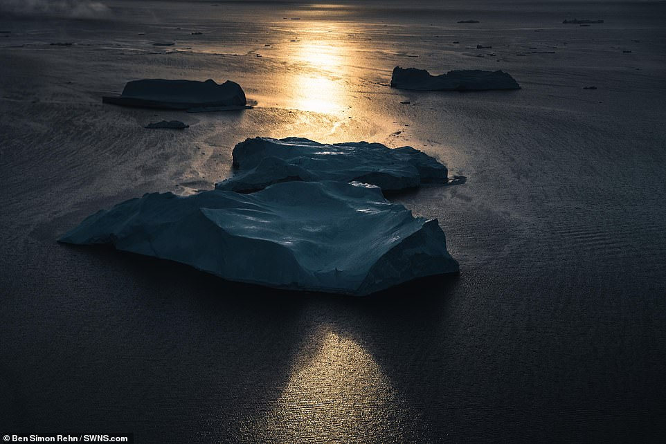 Ben is a German freelance photographer from Bremen who currently lives and works in Iceland. Pictured is a shot of Greenland