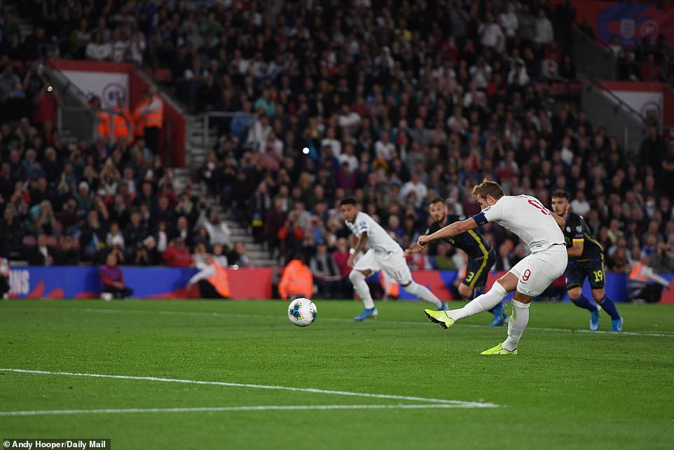 Kane missed a penalty in the second half, with his effort being saved by Kosovo goalkeeper Arijanet Muric