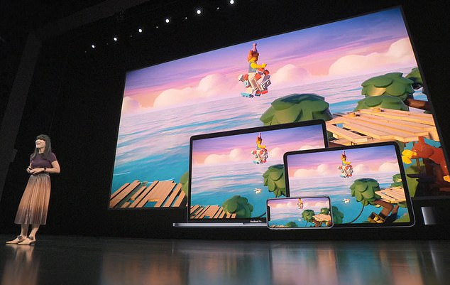 Apple kicked off the event with a look at its upcoming gaming service, Apple Arcade. Apple Arcade will exist as a new tab in the App Store, and subscribers will have unlimited access to its library, which will be continually updating