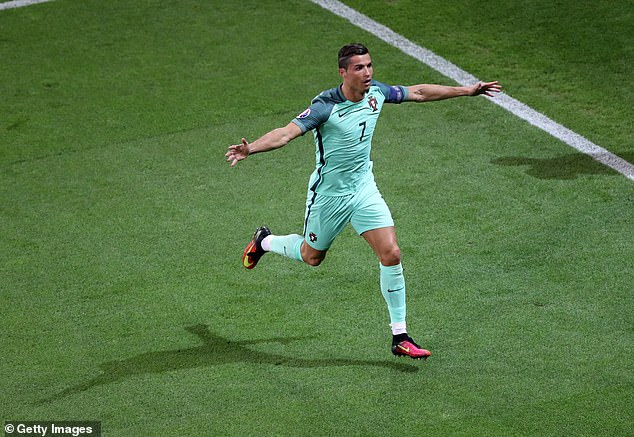 Ronaldo has never scored at a tournament final, although he did score in the semi at Euro 2016