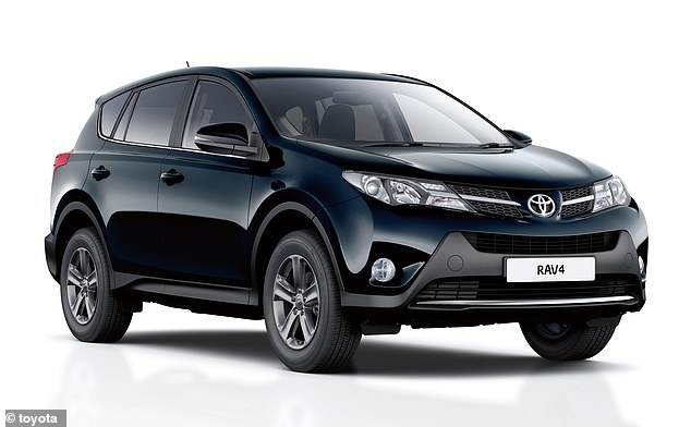 The previous-generation Toyota RAV4 also featured in the top 10, with a score of 89.83%