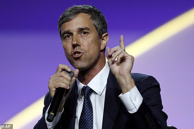 Beto O'Rourke has dropped the f-bomb repeatedly in a series of campaign appearances