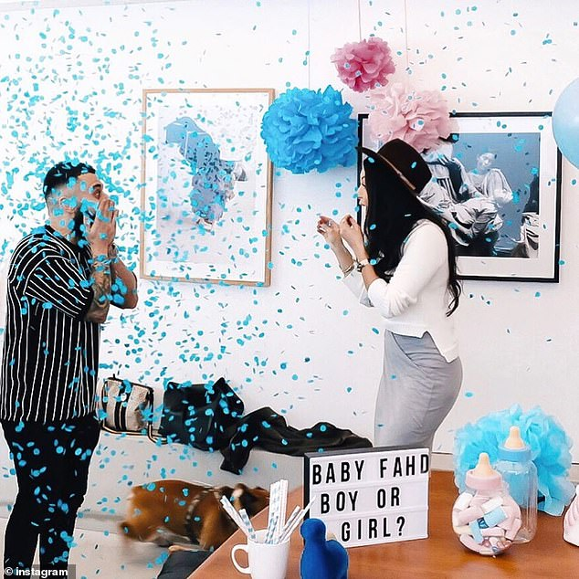 It's a boy! Matty and Sarah then shared a picture of themselves the moment they found out they're expecting a baby boy
