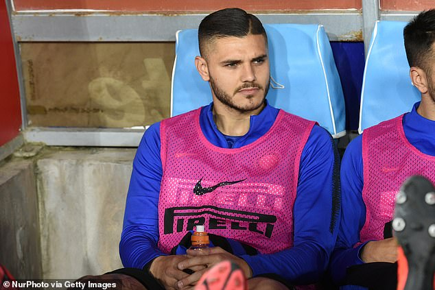 Icardi was stripped of the captaincy at San Siro in January and then excluded from training