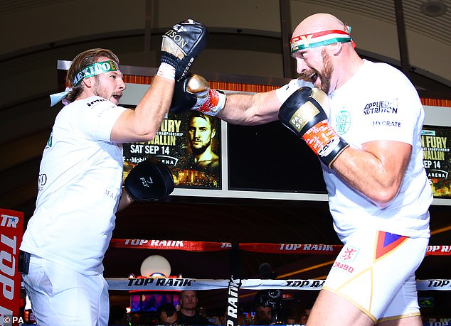 Fury, 31, takes on Otto Wallin on Saturday night, filling the coveted Sin City fight night