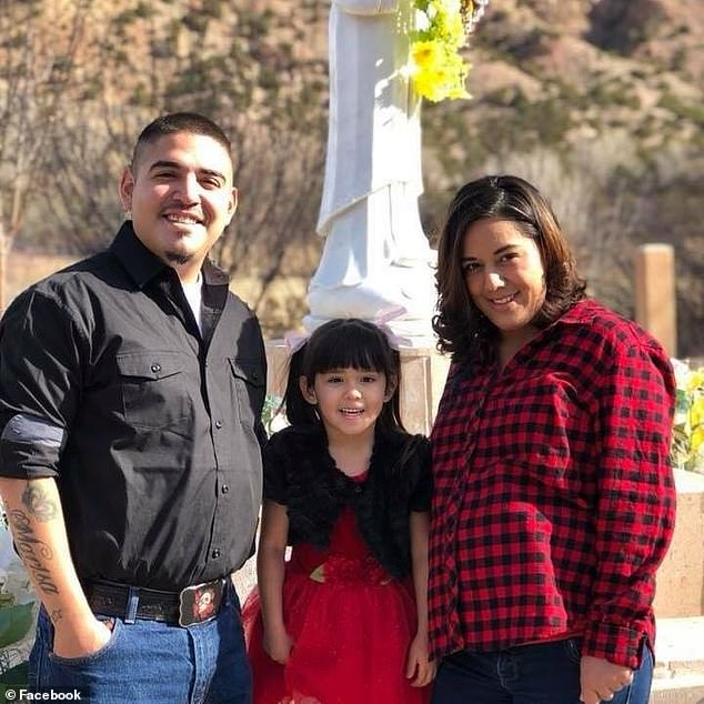 The five-year-old's stepfather, Malcolm Torres (left), was caring for Renezmae on Sunday while her mother, Victoria Maestas (right), was at work