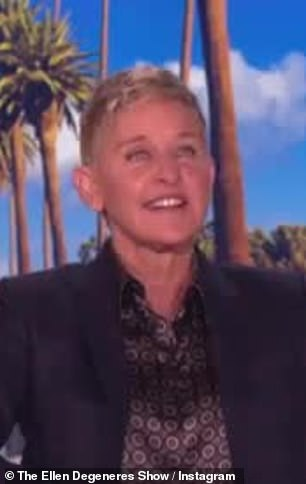 The latest: Brad Pitt, 55, makes a surprise cameo as an audience member on Friday's edition of Ellen