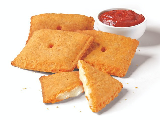 Out now! Pizza Hut has just released a cheesy food mash-up that no one saw coming: Stuffed Cheez-It Pizza