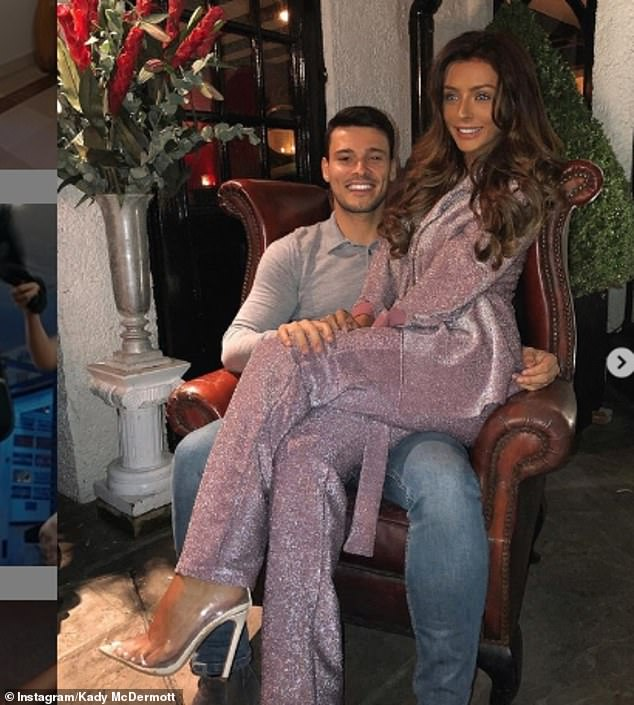 Reconciled: Kady has been dating Myles Barnett since summer 2018 and set up home together earlier this year when they purchased a bungalow to renovate in St. Albans, Hertfordshire