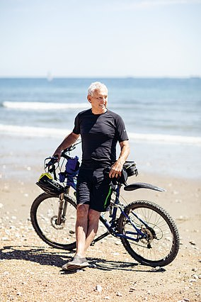 Ken Pardey, 74, is a triathlete from the Isle of Wight