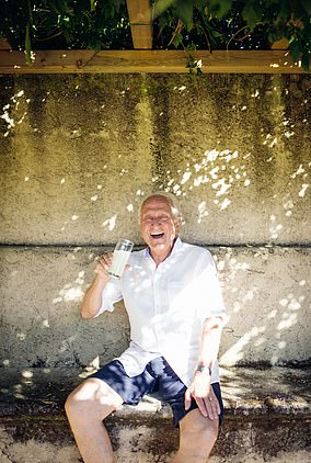 Michel Roux, 78, is a French-born chef who travels between his homes in the UK, St Tropez and Switzerland