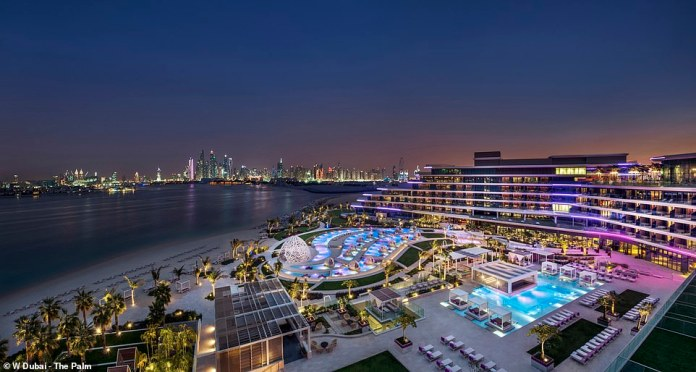 MailOnline's Siofra Brennan ventured to Dubai for a two-night stopover at W The Palm to find out if you can experience the best of the Emirate in less than 48 hours