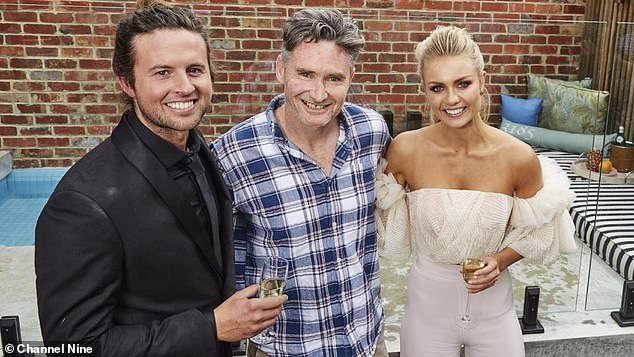 Big bucks!Hughesy, as he's affectionately known as, dramatically changed the lives of then The Block contestants Josh Barker and Elyse Knowles. He purchased their stunningly renovated Elsternwick property for a cool $3.067 million