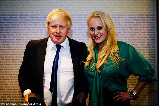 Jennifer Arcuri and Boris Johnson (pictured in 2014). During his tenure as Mayor of London, the Prime Minister signed the former model and the businesswoman around £ 126,000
