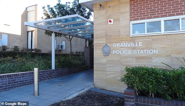 Following inquiries, Wajid attended Granville Police Station (pictured) about 7.40pm Wednesday where he was arrested