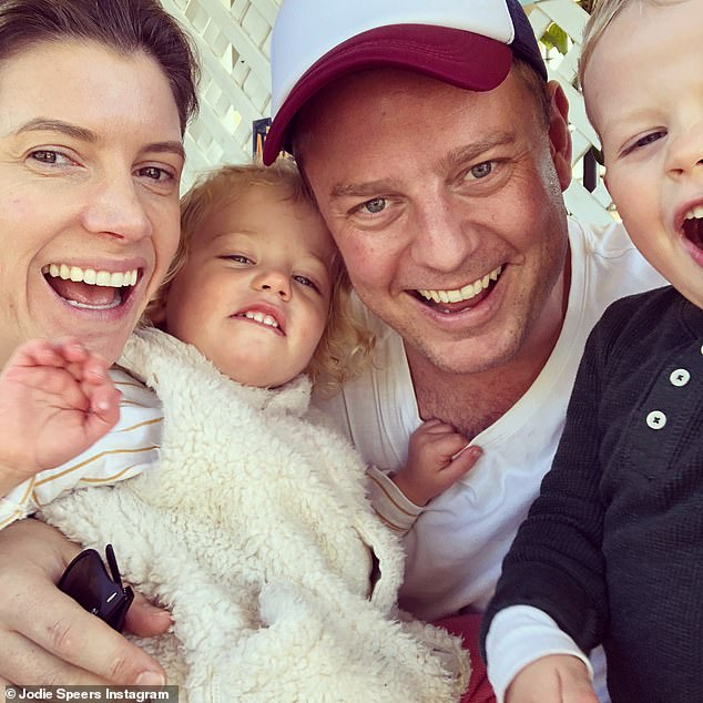 New addition: It's the third child for Ben and his wife of almost eight years, fellow journalist Jodie Speers. The couple are also parents to son Freddy, four, and daughter Pearl, one